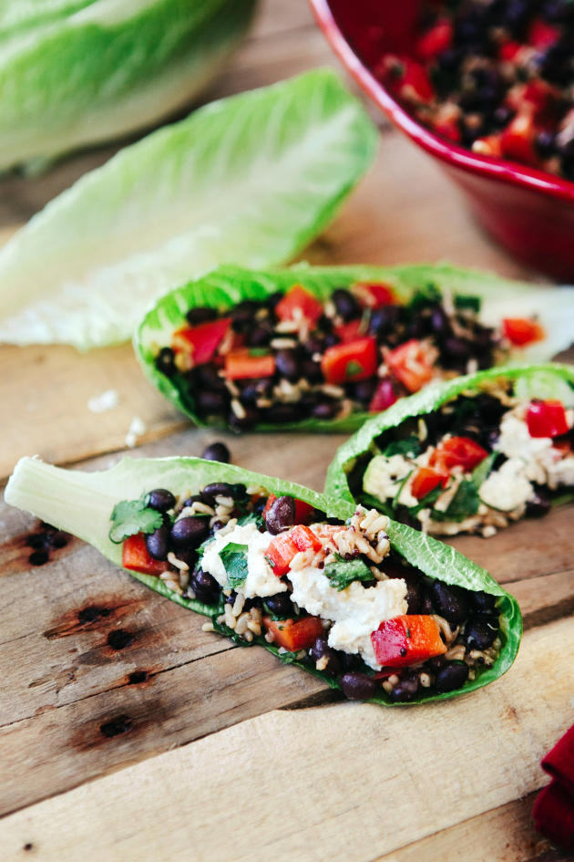 Delicious Black Bean Wraps with Cashew Cream - Food Fanatic