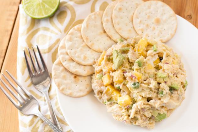 Avocado crab mango salad is a refreshing, light salad that serves as a ...