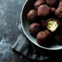 Avocado Cheesecake Truffles Recipe