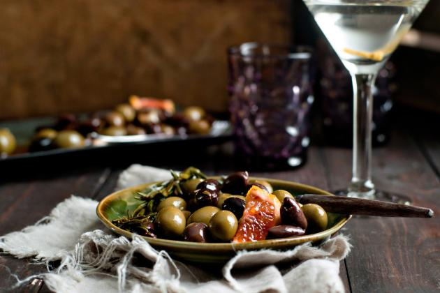 Marinated Olives Picture
