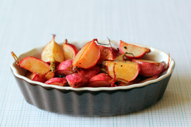 Roasted Radishes Photo
