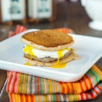 Pancake Breakfast Sandwiches Recipe