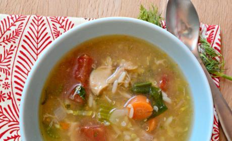 Chicken Quinoa Soup Recipe