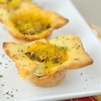Gluten Free Breakfast Pizza Cups Recipe