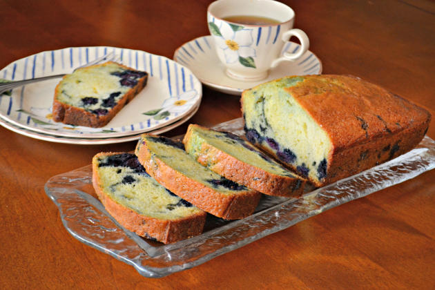 Lemon Blueberry Bread Photo