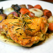 Pan Roasted Chicken Thighs Recipe