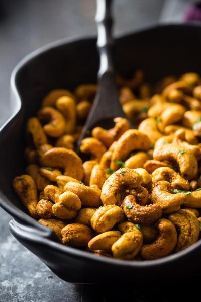 Thai Curry Cashews Image