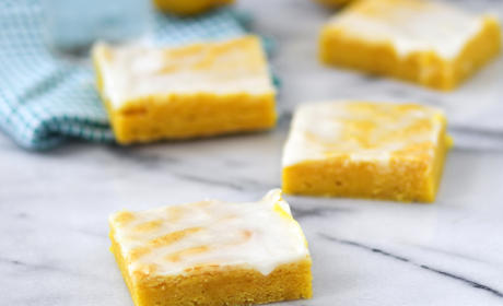 Cake Mix Lemon Bars Recipe