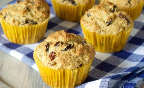 Rum Raisin Muffins Recipe