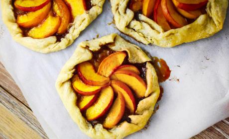 Bourbon Peach Galette Recipe
