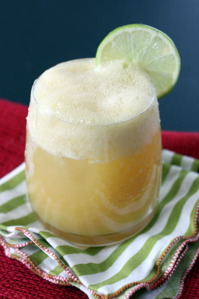 Pineapple Rum Cocktail Picture