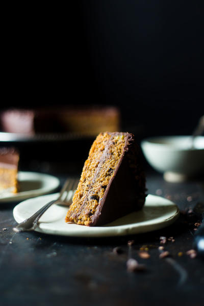 Paleo Banana Bread Cake Image