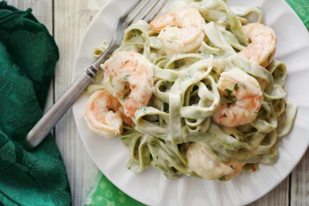 Creamy Shrimp Pasta Photo