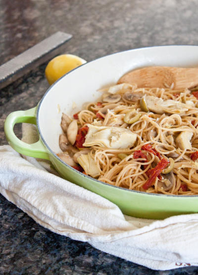 Mediterranean Pasta Image