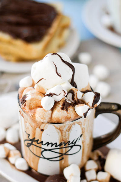 Spiked Nutella Hot Cocoa Image