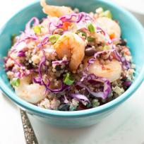 Shrimp Quinoa Salad Recipe