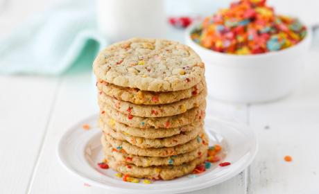 Fruity Pebbles Sugar Cookies Recipe