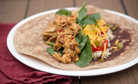 Healthy Chicken Burritos