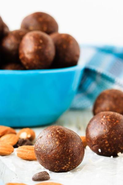 Almond Joy Energy Balls Picture
