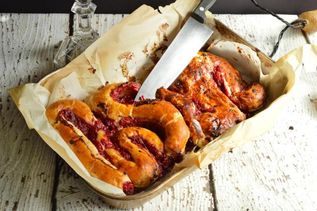 Icky Intestines Bread Photo