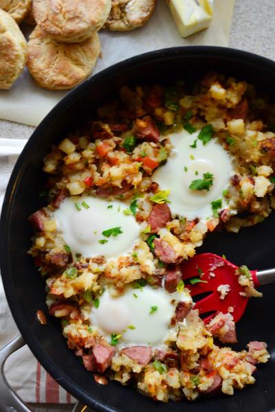 Kielbasa Breakfast Skillet Picture