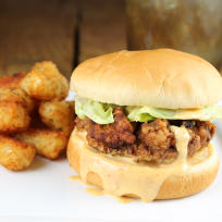Chicken Fried Steak Sandwiches Recipe