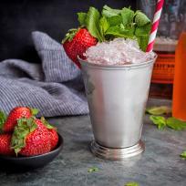 Strawberry Rhubarb Julep Recipe