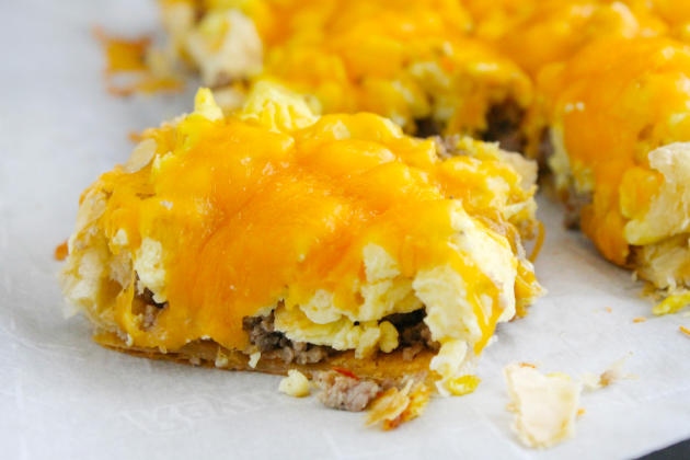 Sausage, Egg and Cheese Breakfast Tart Image