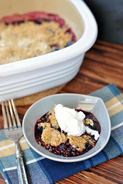 Blueberry Crisp Picture