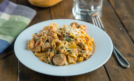 Sausage Spinach Pasta Recipe