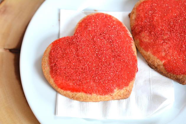 Homemade Panera Bread Valentine Cookies Photo