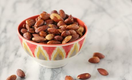 Olive Oil Roasted Almonds: Perfect Snack Food