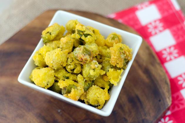 Gluten Free Fried Okra Image