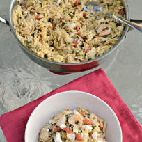 Shrimp and Orzo Recipe