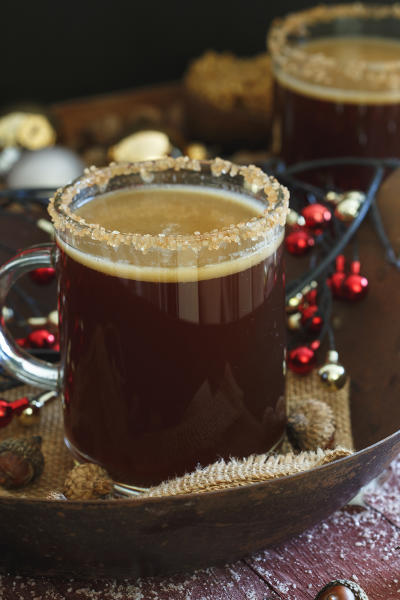 Gingerbread Hot Buttered Rum Image