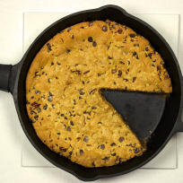 Cast Iron Chocolate Chip Cookie Recipe
