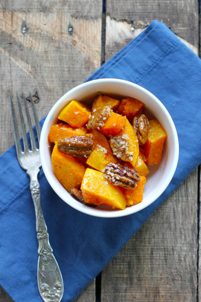 Vanilla Roasted Butternut Squash and Pecans Picture