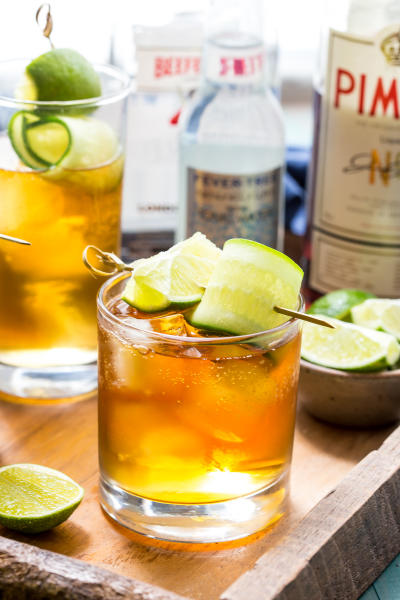 Pimm's and Tonic Picture