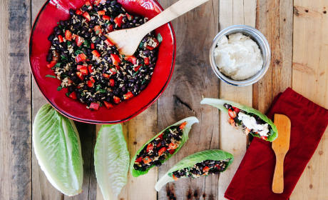 Black Bean Wraps Recipe