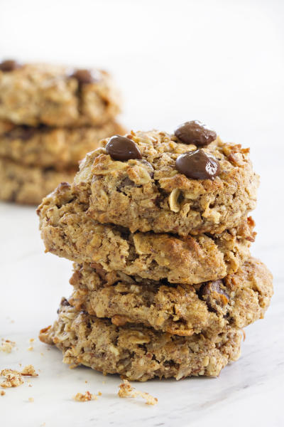Chocolate Almond Breakfast Cookies Pic