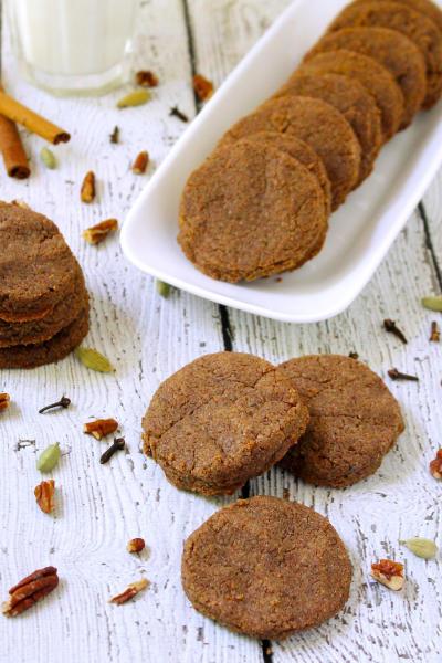 Gluten Free Spiced Pecan Cookies Image