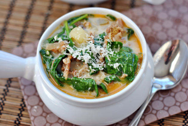 Zuppa Toscana - Food Fanatic