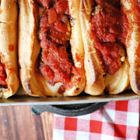 Homemade Meatball Subs Recipe