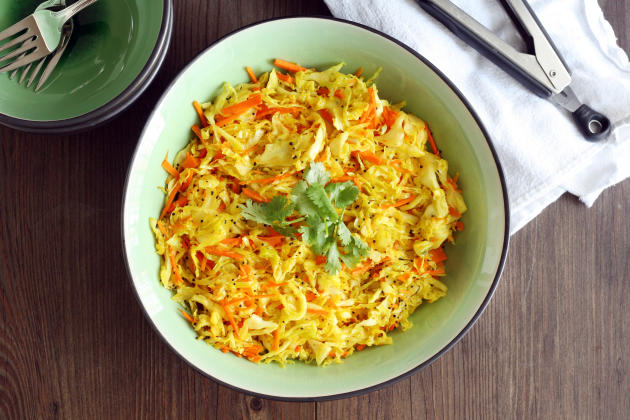 Cabbage Stir Fry Photo