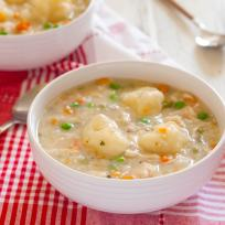 Gluten Free Chicken and Dumplings Recipe