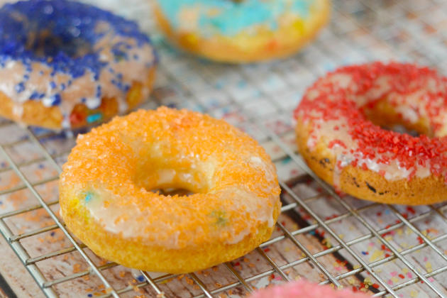 Gluten Free Funfetti Cake Donuts Image