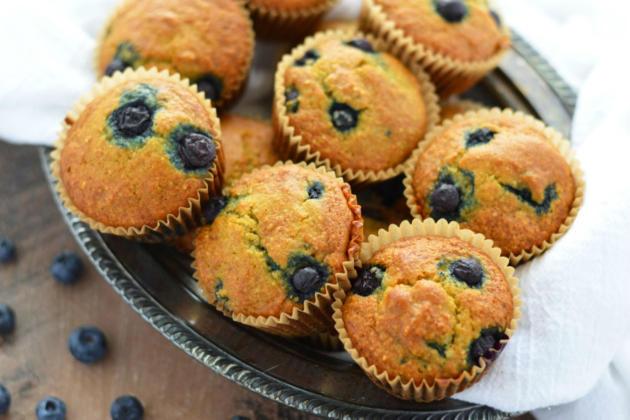 Grain Free Blueberry Muffins Photo
