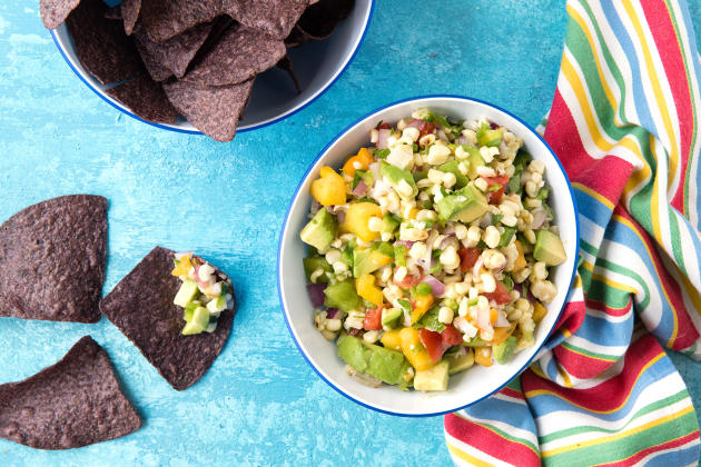 Grilled Sweet Corn Salsa Photo