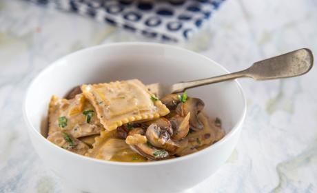 Beef Stroganoff Ravioli Skillet Recipe