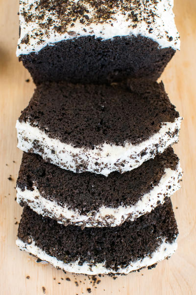 Chocolate Cookies and Cream Banana Bread Picture